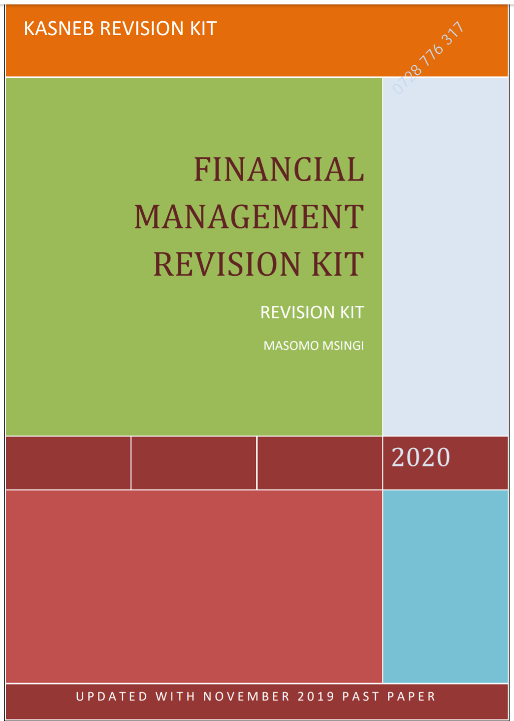 FINANCIAL MANAGEMENT QUESTION AND ANSWER