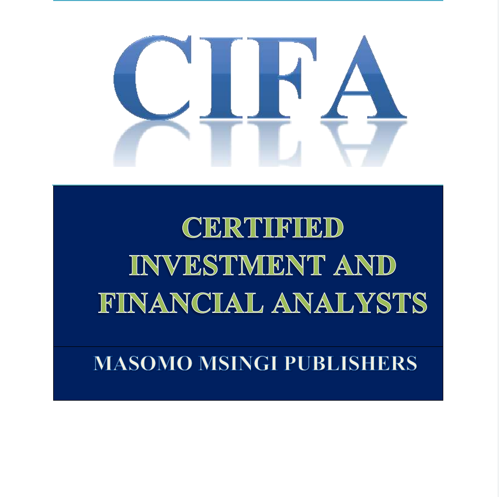 CIFA STUDY NOTES AND PAST PAPERS WITH SOLUTIONS